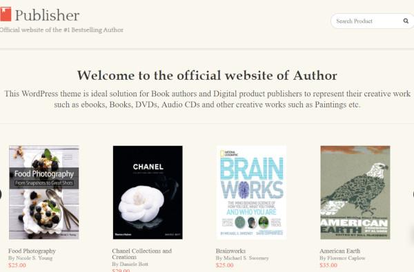 publisher – multilingual wordpress theme