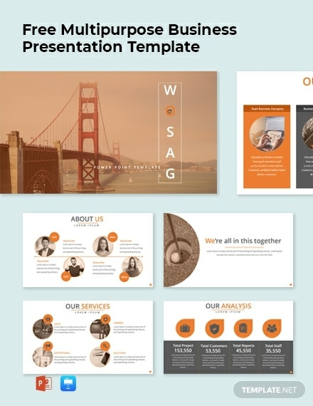 quality multipurpose business powerpoint layout