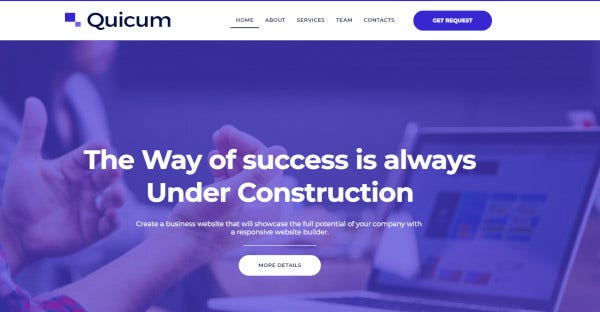 quicum user friendly wordpress theme
