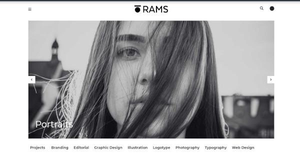 rams bootstrap 4 wordpress theme