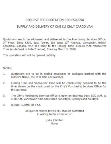 10+ Delivery Quotation Templates - PDF | Free & Premium
