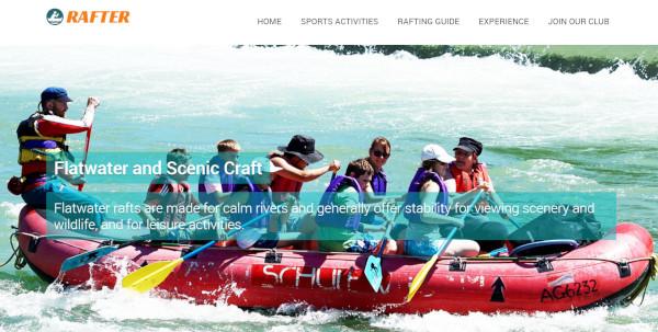 rafter seo optimized wordpress theme