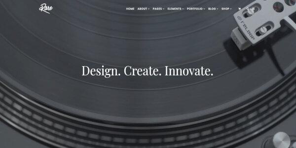 Rare – Mobile Friendly WordPress Theme