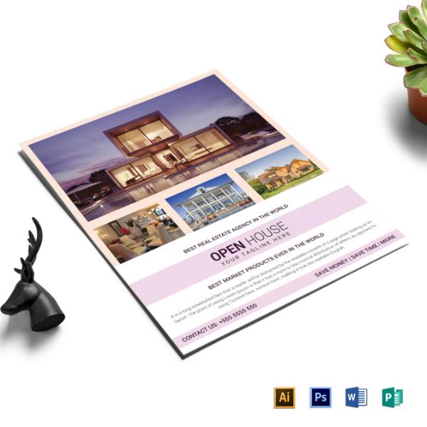 real estate agency flyer sample