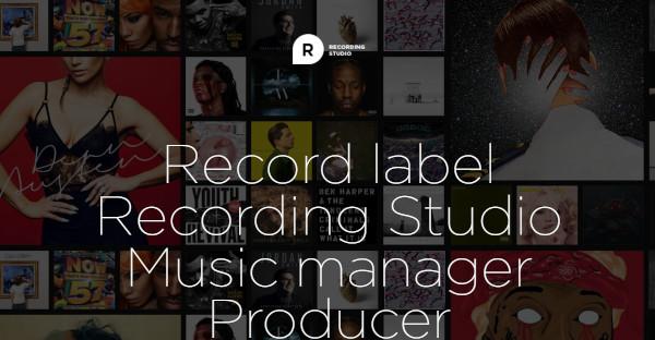 Recording Studio - Robust Framework WordPress Theme