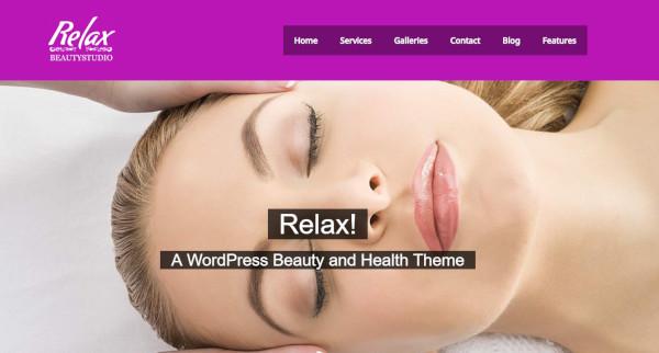 relax – responsive wordpress theme