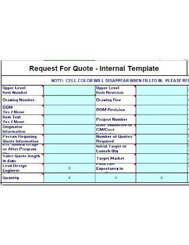 request for quote template in xls