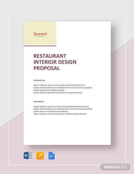 7 Sample Interior Design Proposal Templates Pdf Word Free Premium Templates