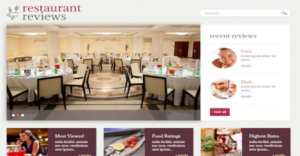Restaurant Reviews - 80 Shortcodes WordPress Theme