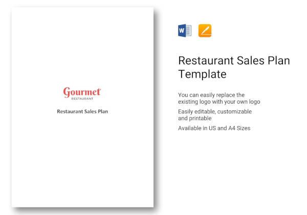 restaurant-sales-plan-template