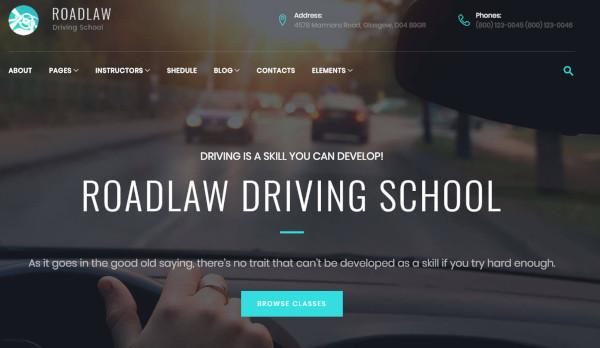 roadlaw-responsive-wordpress-theme