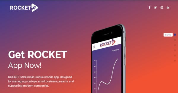 Rocket - SEO Optimised WordPress Theme