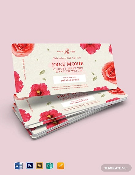 romantic love voucher template for girlfriend