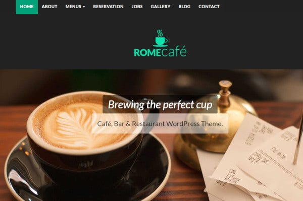 rome-cafe-bootstrap-framework-wordpress-theme