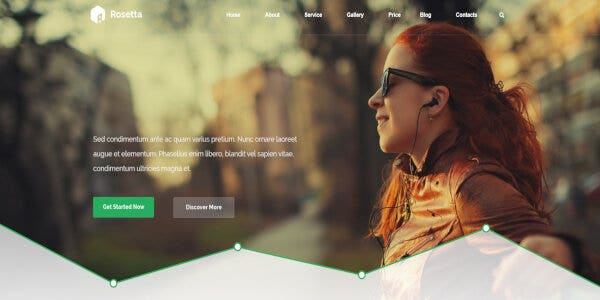 Rosetta – Visual Composer WordPress Theme