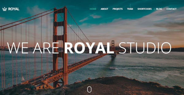 royal-bootstrap-framework-wordpress-theme