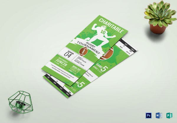 rugby tournament ticket