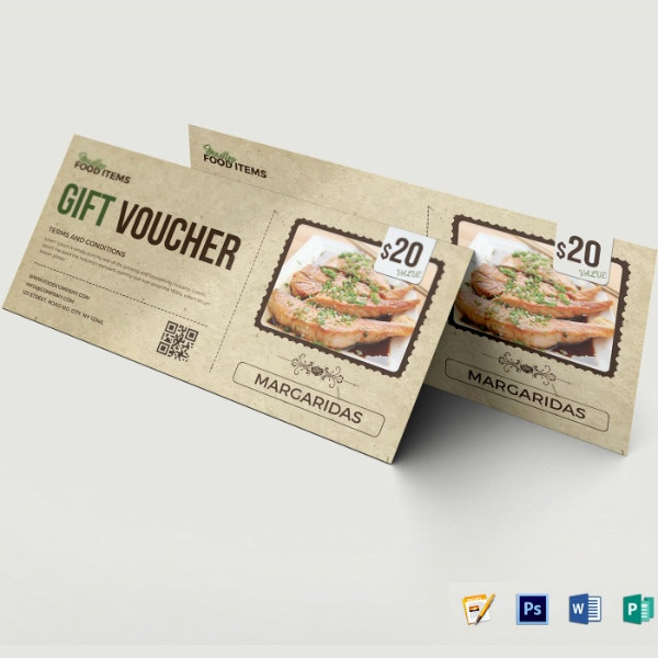rustic restaurant food coupon layout