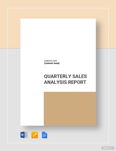 sales analysis report template1