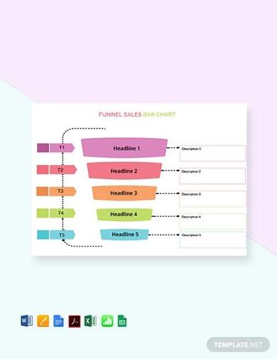 sales bar chart template