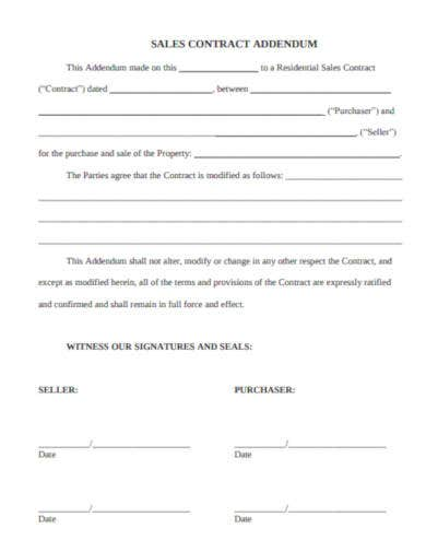 sales-contract-addendum-sample