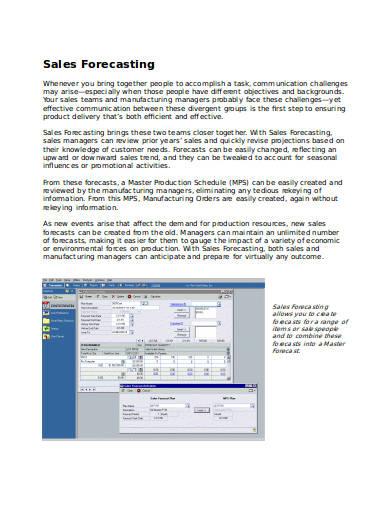 sales-forecasting-fact-sheet
