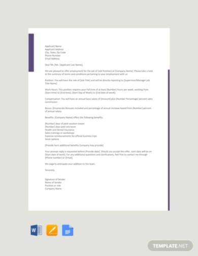 sales-job-offer-letter-template