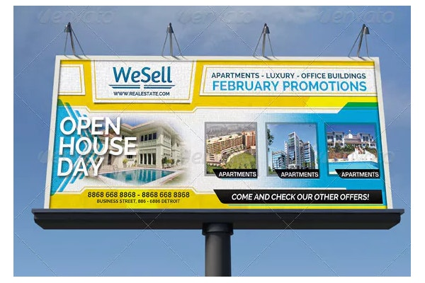 sales services business billboard