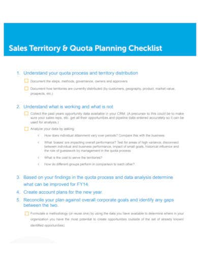 sales-territory-planning-checklist