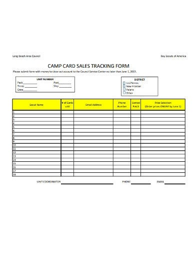 sales-tracking-form-template