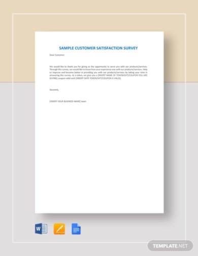 sample-customer-satisfaction-survey