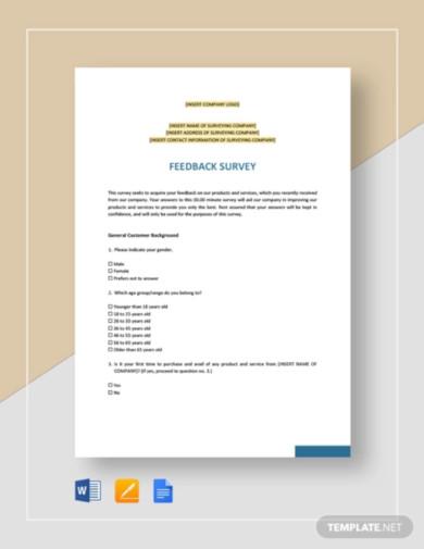 sample-feedback-survey-template