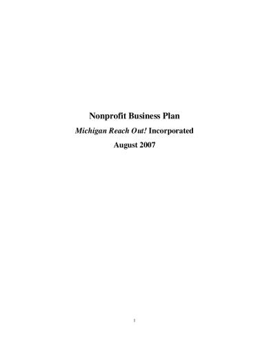 sample-nonprofit-business-plan