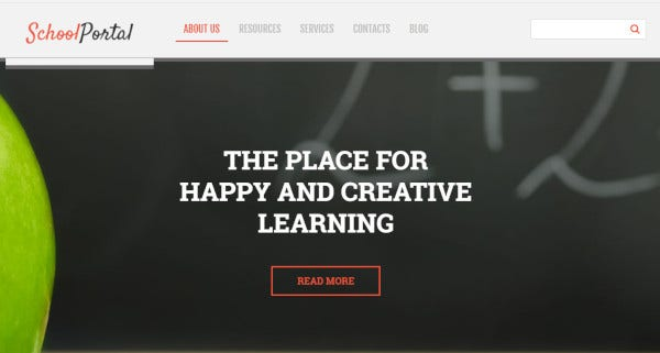 school-portal-wpml-ready-wordpress-theme