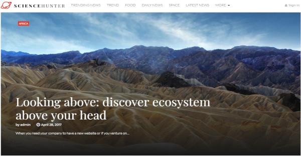 ScienceHunter - Woocommerce WordPress Theme