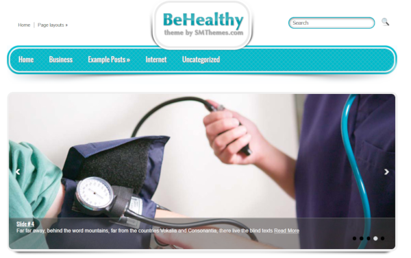BeHealthy – Free WordPress Theme