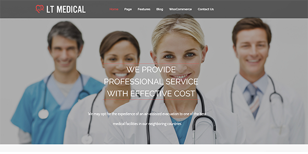 LT Medical – LayersWP WordPress Theme
