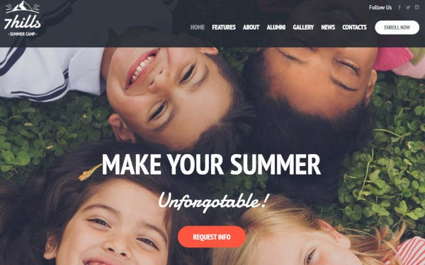 sevenhills woocommerce compatible wordpress theme