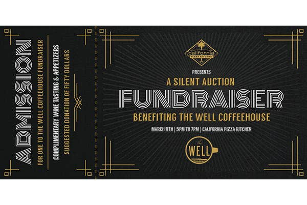 simple fundraiser ticket