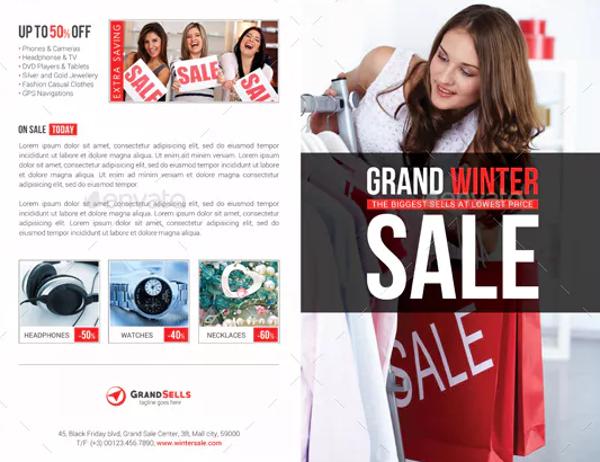 simple sales brochure template