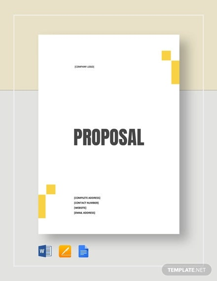simply proposal template
