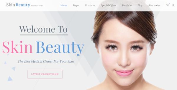 skin beauty wpml plugin wordpress theme
