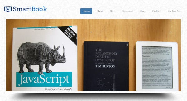 smart book – jquery enhanced wordpress theme