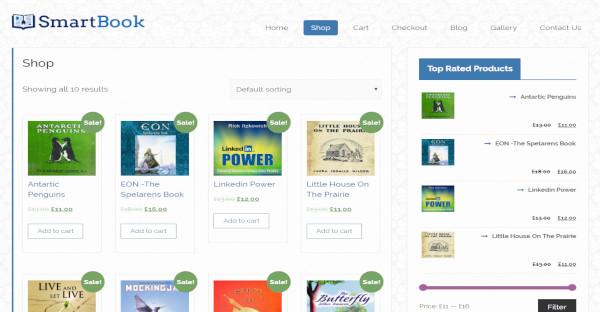 Smartbook – Customized WordPress Theme