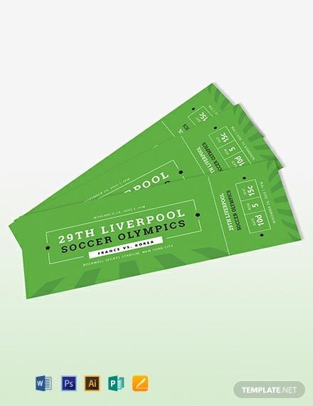 soccer ticket invitation template 440x570 11