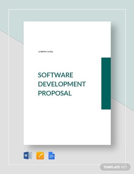 software development proposal