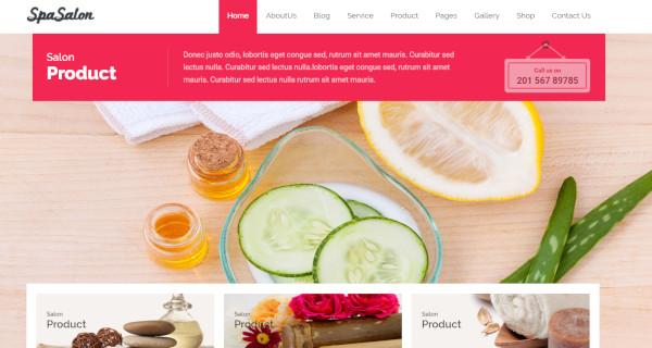 spasalon – user friendly wordpress theme