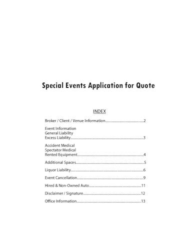 special-event-quote