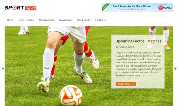 sportsnews-custom-wordpress-theme