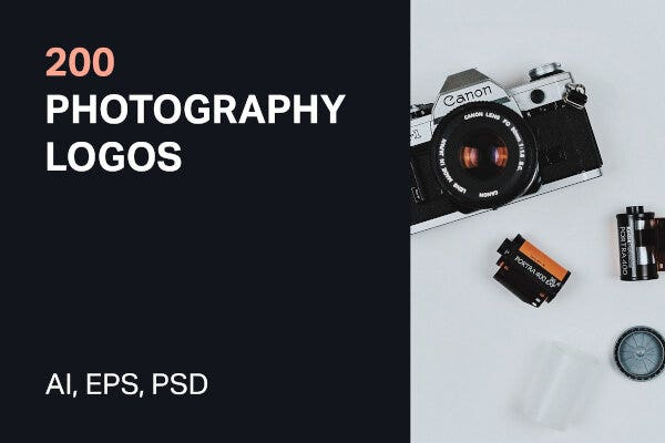 standard photography logos examples